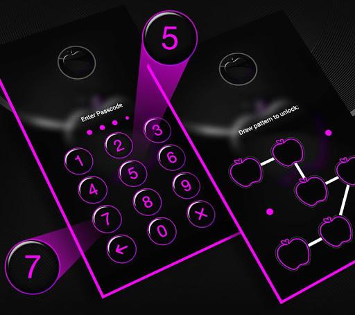 Crystal Black Apple Launcher Theme modavailable screenshots 4
