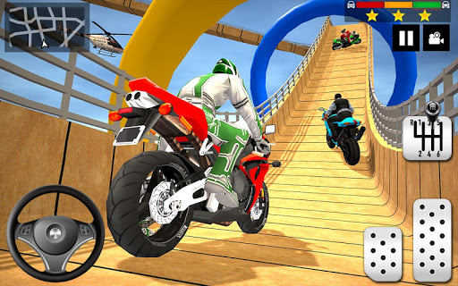 Impossible Stunts Bike Racing Games 2018: Sky Road 1.6 screenshots 1