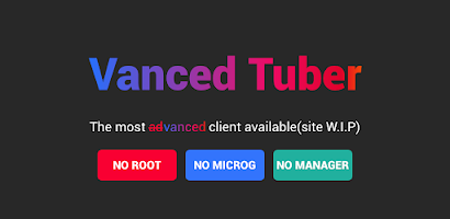 Vanced Tuber - Advanced Video Tube and Block ADs