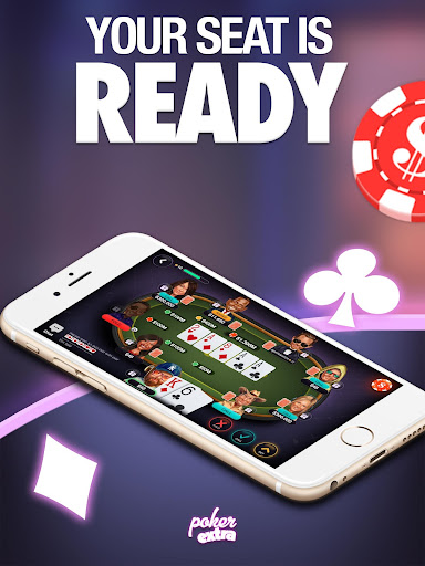 Poker Extra - Texas Holdem Casino Card Game 1.5.9 screenshots 1