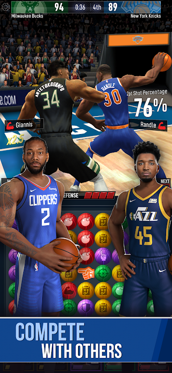 NBA Ball Stars: Play with your Favorite NBA Stars poster 4