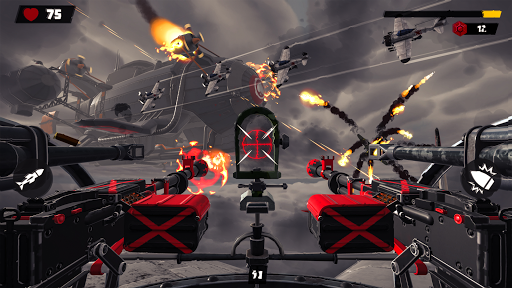 Gunner War - Air combat Sky Survival android2mod screenshots 6