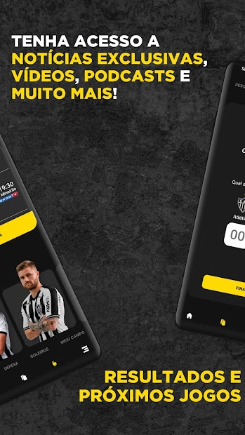Captura de Pantalla 3 de Atlético Oficial para android