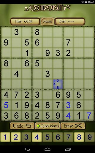 Sudoku Free 1.52 screenshots 16