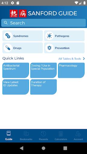 Sanford Guide:Antimicrobial Rx 4.2.15 Screenshots 1