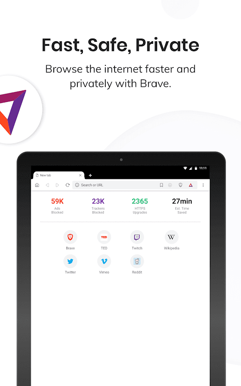 Brave Private Browser: Fast, secure web browser  poster 5
