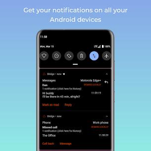 Bridge – mirror notifications (notification sync) (MOD APK, Premium) v3.1 4