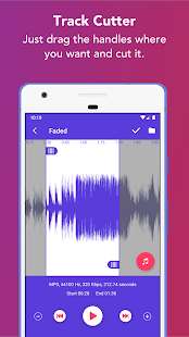 Music Editor: Ringtone maker & MP3 Audio cutter Screenshot