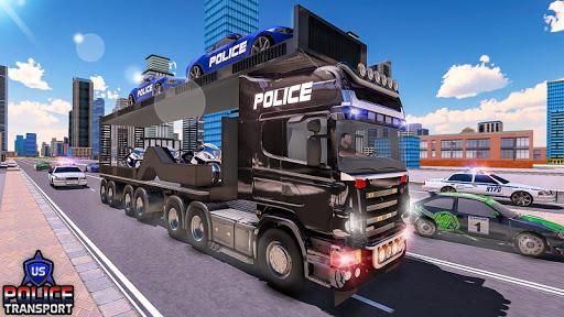US Police Robot Transform - Police Plane Transport  screenshots 3