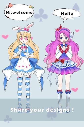 Vlinder Princess - Dress Up Games,Avatar Fairy APK MOD (Astuce) screenshots 4