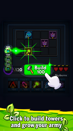 Merge Clash: TD Tower Defense Games  screenshots 5