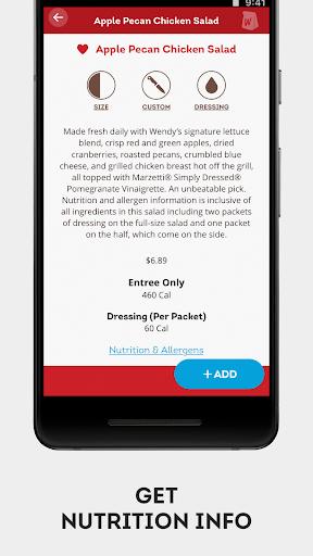 Wendyu2019s u2013 Earn Rewards, Order Food & Score Offers  screenshots 8