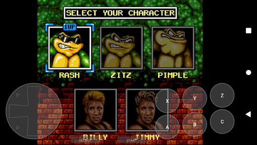 Retro Game Emulator (MD2/GENESIS) apkpoly screenshots 2
