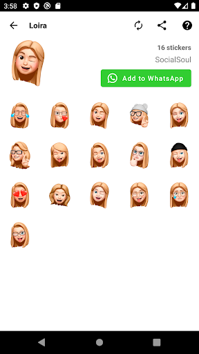Emojis, Memojis and Memes Stickers - WAStickerApps WAStickerApps 1.0.49 Screenshots 1