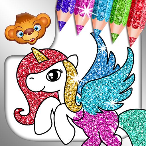 Coloring Games for Kids -Tashi
