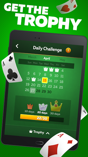 Solitaire Play u2013 Classic Klondike Patience Game 2.1.4 screenshots 8