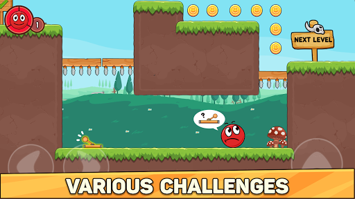 Bounce Ball 6: Red Bounce Ball Hero 2.3 screenshots 2