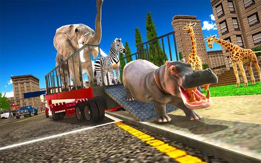 Télécharger Gratuit Animal Hospital Transporter Truck Driver Simulator apk mod screenshots 5