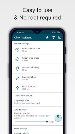 Click Assistant - Auto Clicker : Gesture Recorder  screenshots 1