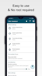 Click Assistant – Auto Clicker : Gesture Recorder v1.10.5 MOD APK 1
