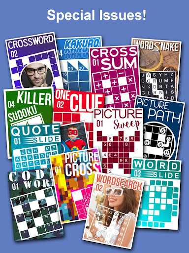 Puzzle Page - Crossword, Sudoku, Picross and more 3.62 screenshots 17