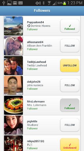 Followers+ for Twitter 1.2.0 Screenshots 2