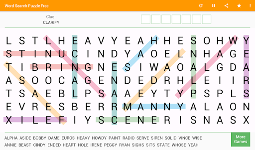 Word Search Free Game 8.4 screenshots 14