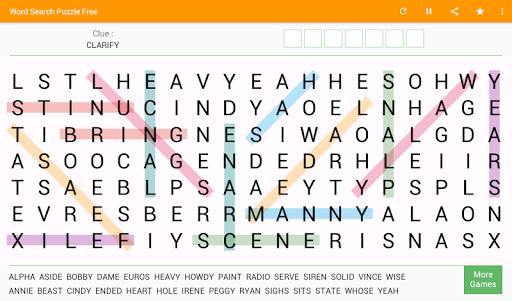 Word Search - Free Word Game 8.4 screenshots 11
