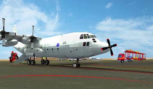 Airplane Car Transport Sim 1.7 screenshots 2