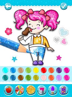 Glitter Ice Cream Coloring 5.4 Screenshots 11