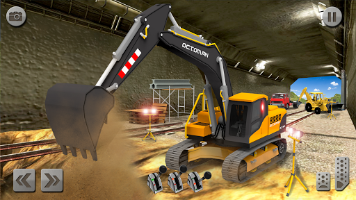 Sand Excavator Truck Driving Rescue Simulator game screenshots 8