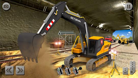 Sand Excavator Simulator 2021: Truck Driving Games 8