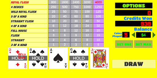 Deuces Wild - Video Poker 1.9 screenshots 3
