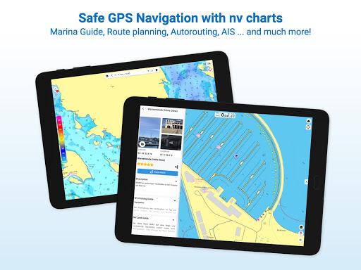 NV Charts GPS Navigation AIS android2mod screenshots 17