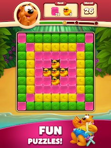 Toon Blast Mod Apk (Unlimited Moves + Unlimited Boosters) 9