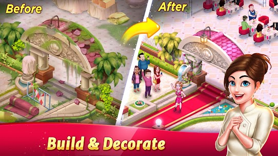 Tasty Cooking Cafe & Restaurant Game: Star Chef 2 2