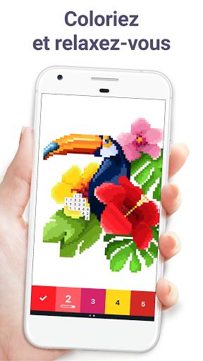 Pixel Art : Jeux de coloriage par numéros apk mod screenshots 1