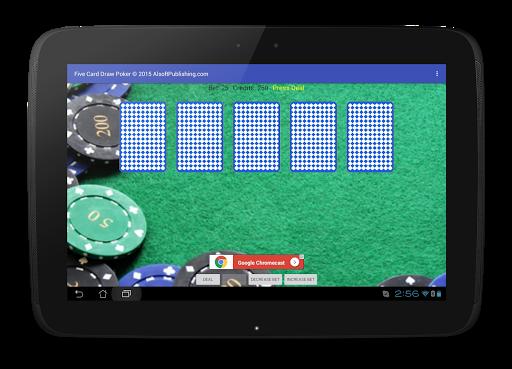 Five Card Draw Poker 1.20 screenshots 9