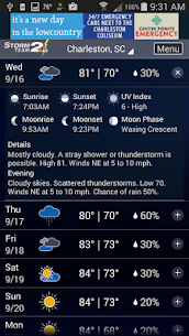 WCBD Weather 5.0.1307 Android Mod APK 3