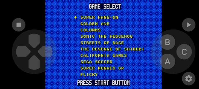 MD/Genesis Emulator 6