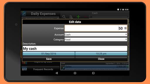 Daily Expenses 2: Personal finance android2mod screenshots 12
