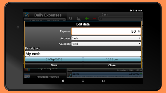 Daily Expenses 2: Personal finance Screenshot