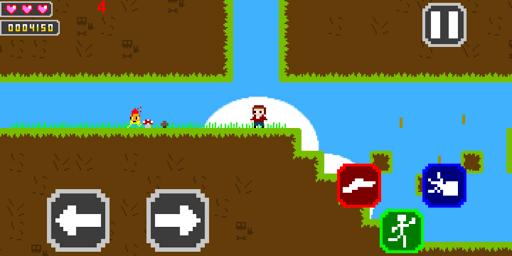 freesur 8 bit retro game screenshot 2