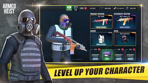 Armed Heist: TPS 3D Sniper shooting gun games 2.3.6 Screenshots 17