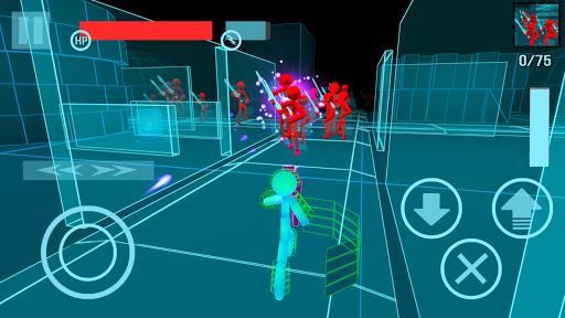 Stickman Neon Gun Warriors Apkfinish screenshots 1