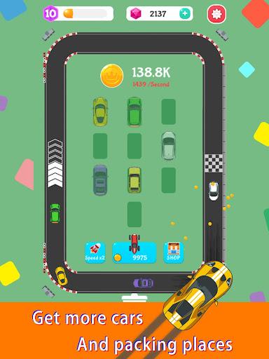 Merge Rally Car - idle racing game  screenshots 14