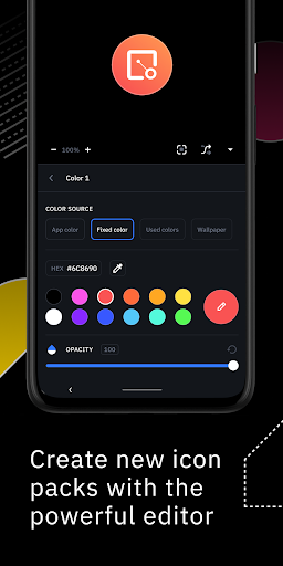 Icon Pack Studio - Make your own icon pack 2.1 build 015 screenshots 2