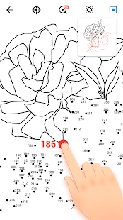 Dot to Dot to Coloring Screenshot