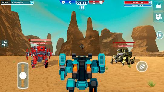 Blocky Cars – pixel shooter, tank wars 6