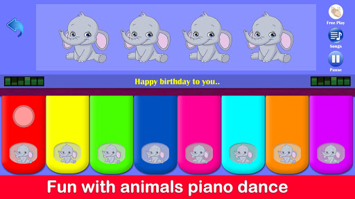 Kids Piano Free 2.8 Screenshots 11